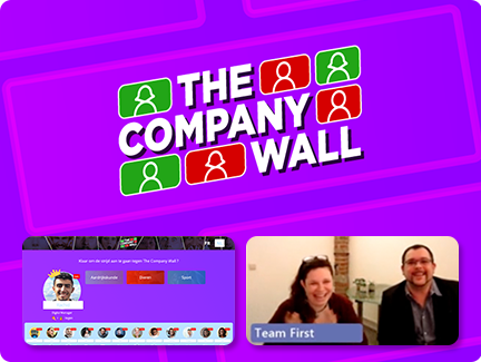 The Company Wall by Team First